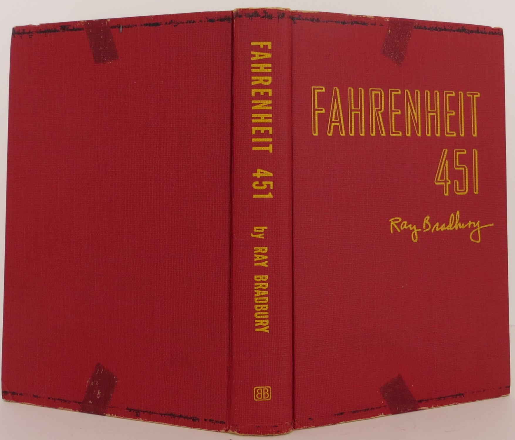 Ray Bradbury / Fahrenheit 451 First Edition 1953 #1907120