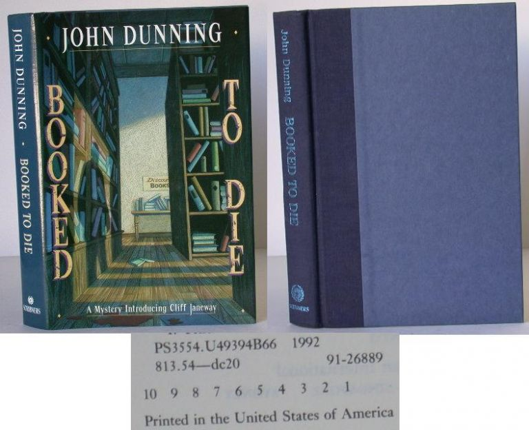 Booked to Die. John Dunning.