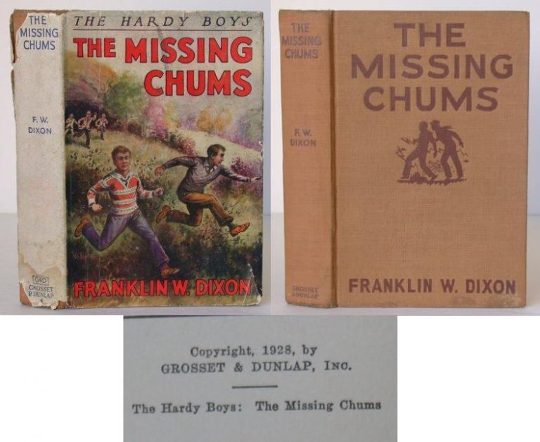 The Hardy Boys: The Missing Chums. Franklin W. Dixon.