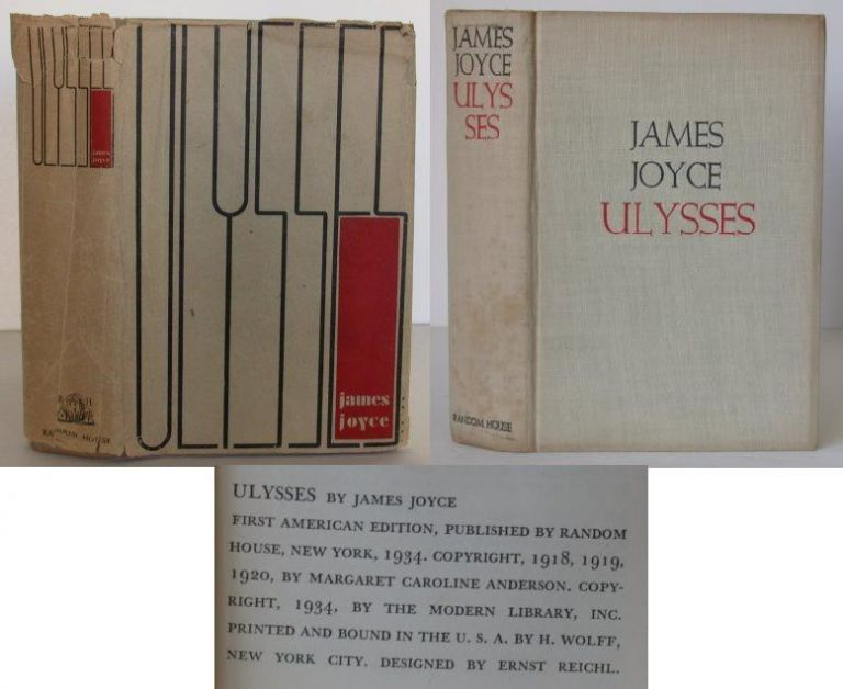 Ulysses. James Joyce.