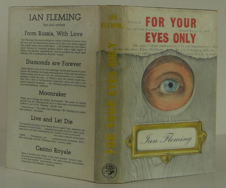 For Your Eyes Only. Ian Fleming.