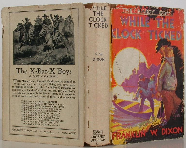 The Hardy Boys -- While the Clock Ticked. Franklin W. Dixon.