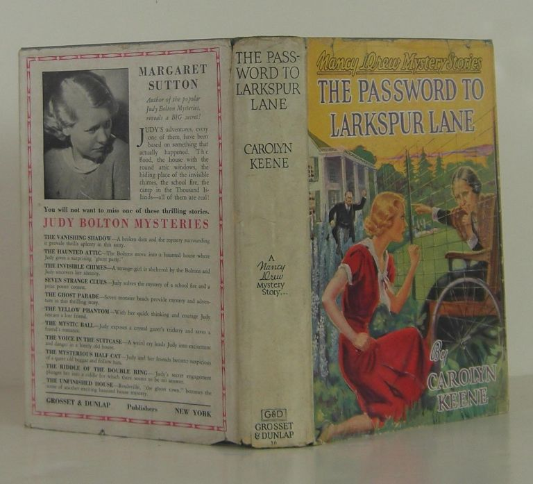 Nancy Drew The Password of Larkspur Lane. Carolyn Keene.