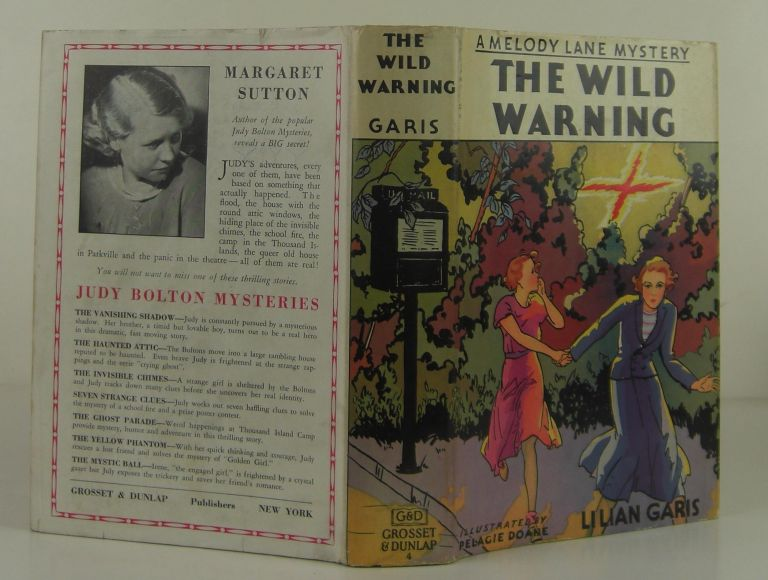 A Melody Lane Mystery: The Wild Warning. Lilian Garis.
