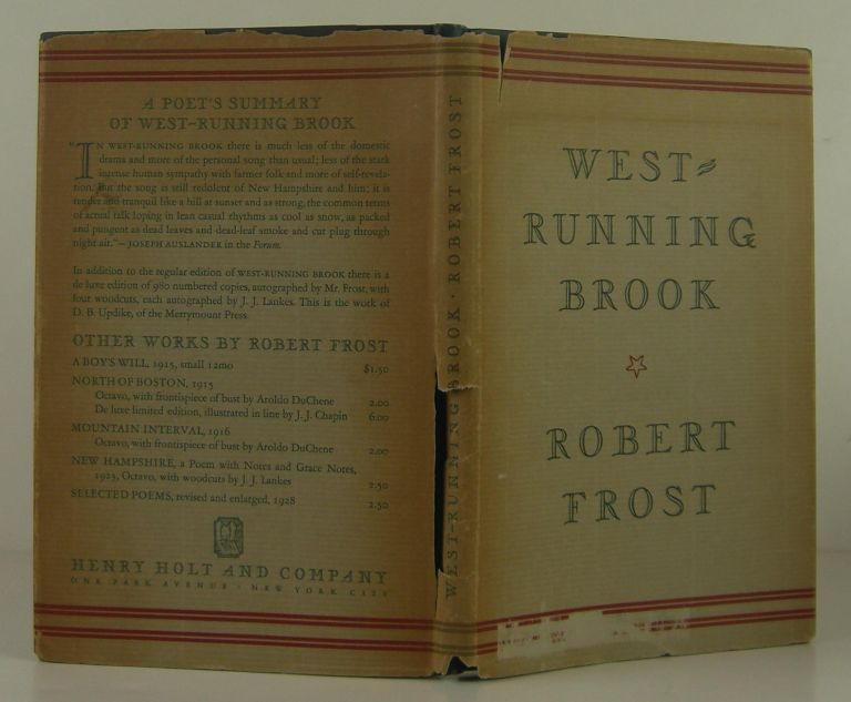 West-Running Brook. Robert Frost.