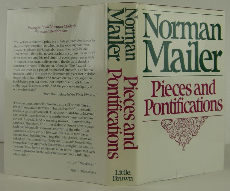 Pieces and Pontifications. Norman Mailer.