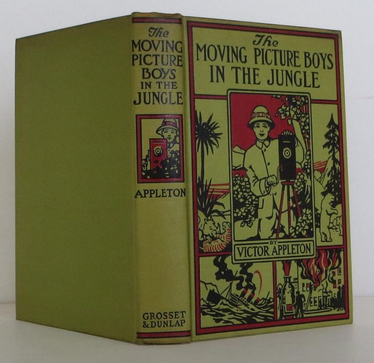 The Motion Picture Boys in the Jungle. Victor Appleton.