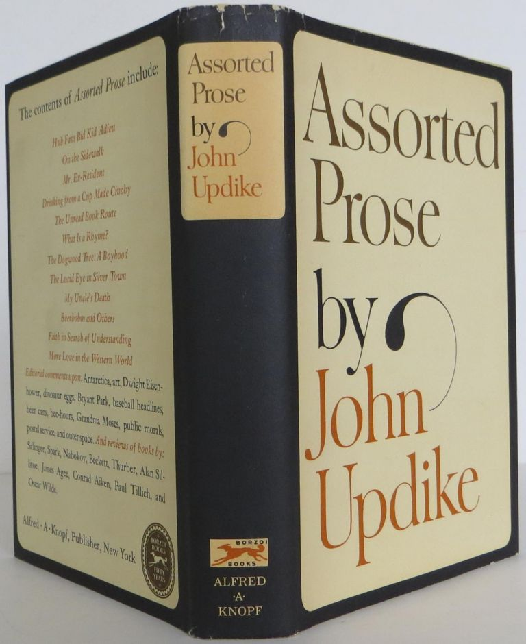 Assorted Prose. John Updike.