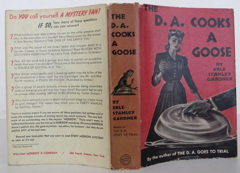 The D.A. Cooks A Goose. Erle Stanley Gardner.