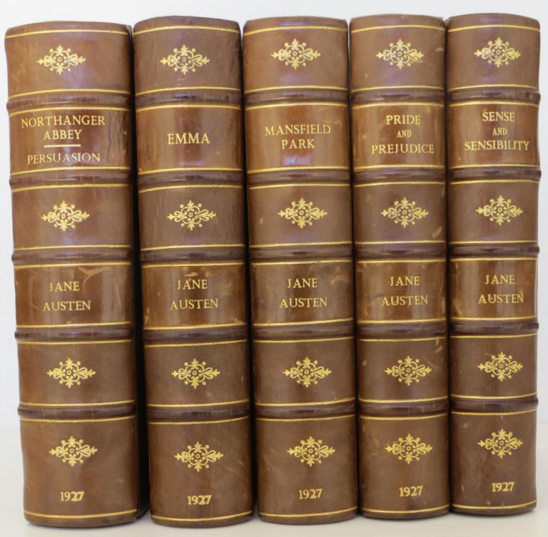 The Works of Jane Austen (Pride and Prejudice, Sense and Sensibility, Northanger Abbey, Persuasion, Mansfield Park, and Emma). Jane Austen.
