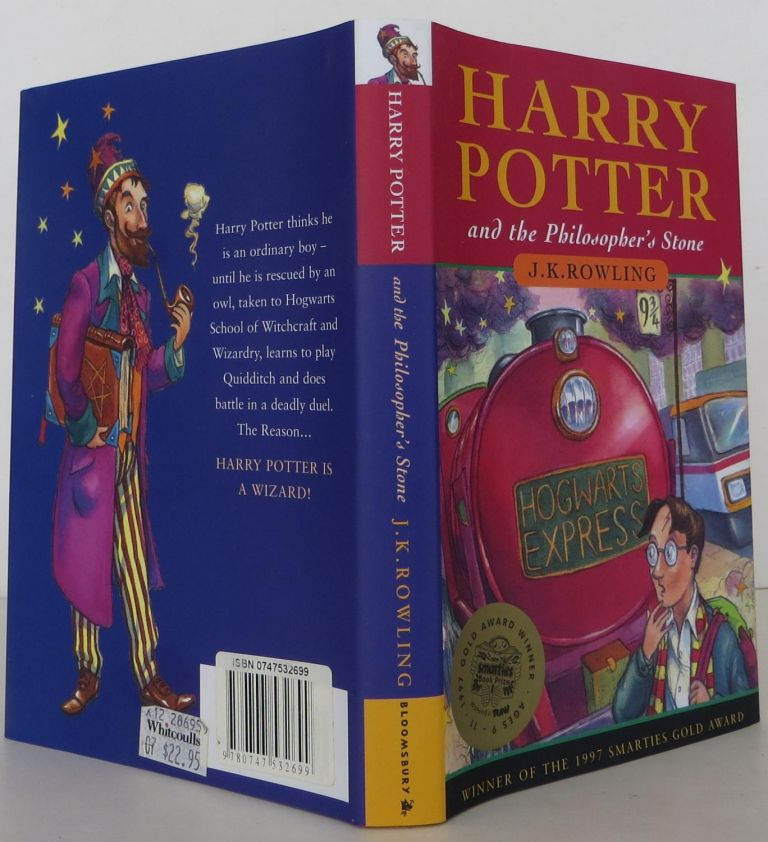 Harry Potter and the Philosopher's Stone:. J K. Rowling.
