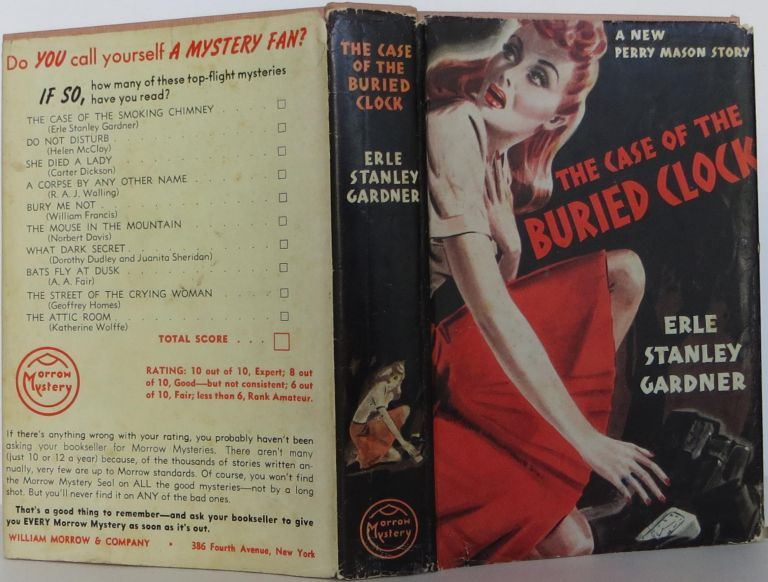 The Case of the Buried Clock. Erle Stanley Gardner.