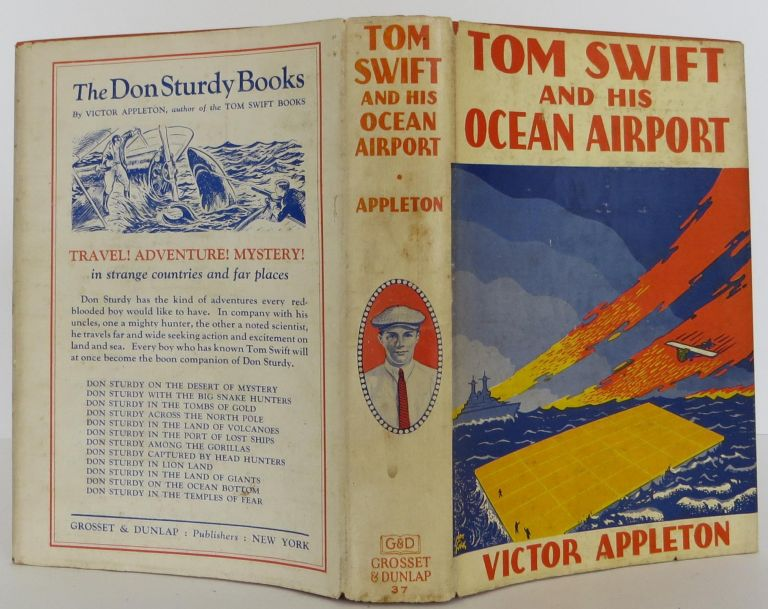Tom Swift and his Ocean Airport. Victor Appleton.