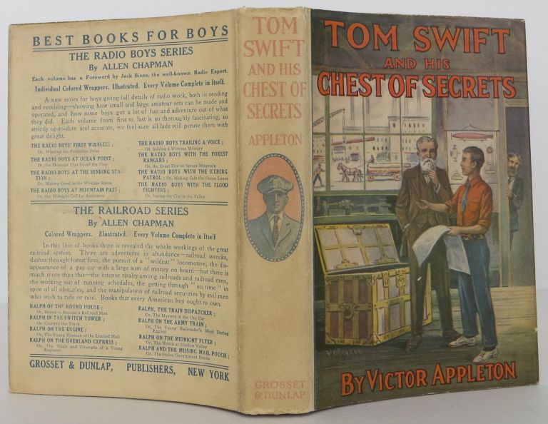 Tom Swift and his Chest of Secrets. Victor Appleton.