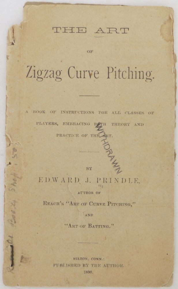 The Art of Zigzag Curve Pitching. Edward J. Prindle.