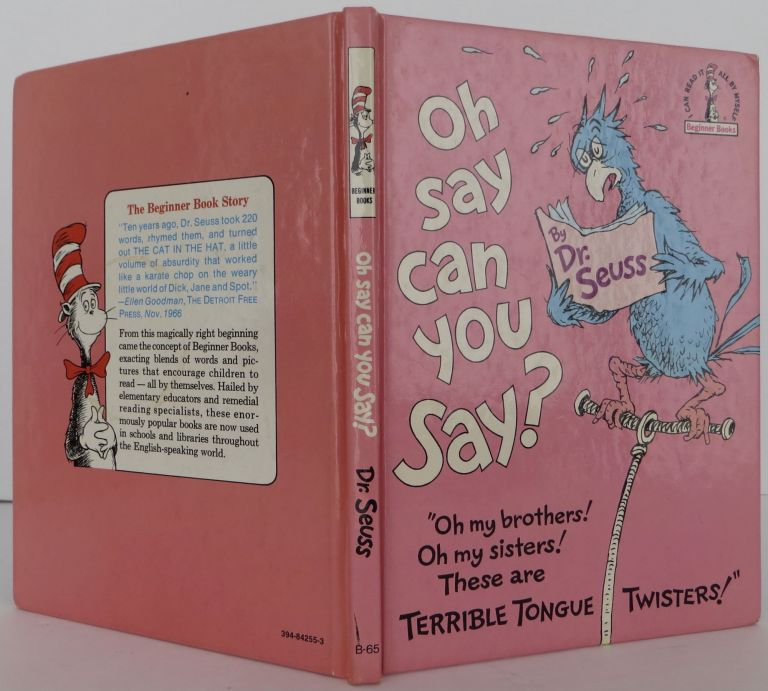 Oh Say You Can Say? Seuss Dr.