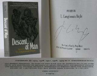 Descent of Man. T. C. Boyle