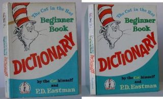 The Cat in the Hat Beginner Book Dictionary. Dr. Seuss