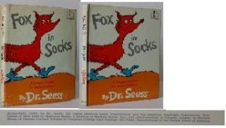 Fox in Socks. Dr. Seuss