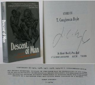 Descent of Man. an Atlantic Monthly Press Book: Stories. T. C. Boyle