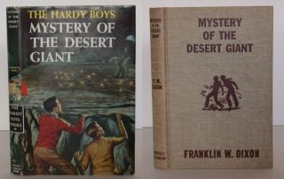 The Hardy Boys: Mystery of the Desert Giant. Franklin Dixon