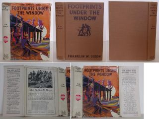 The Hardy Boys: Footprints Under the Window. Franklin Dixon