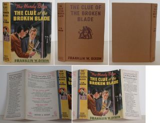 The Hardy Boys: The Clue of the Broken Blade. Franklin Dixon