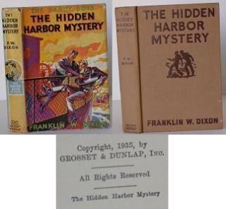 The Hardy Boys: The Hidden Harbor Mystery. Franklin Dixon