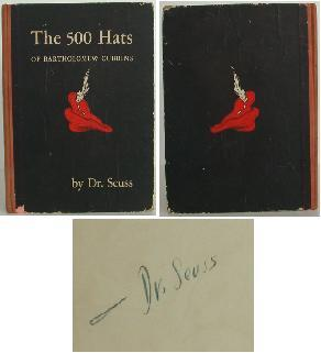 The 500 Hats of Bartholomew Cubbins. Dr. Seuss