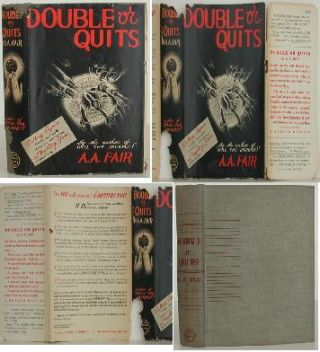 Double or Quits. Erle Stanley Gardner, A A. Fair