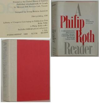 A Philip Roth Reader. Philip Roth