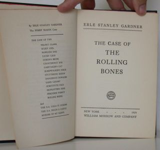 The Case of the Rolling Bones