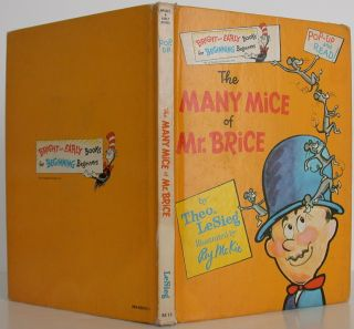 The Many Mice of Mr. Brice. Seuss Dr