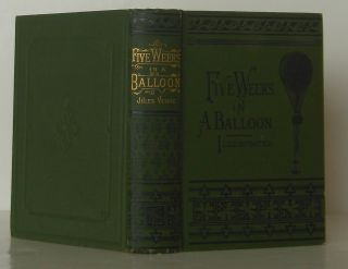Five Weeks in a Balloon -- Illustrated. Jules Verne