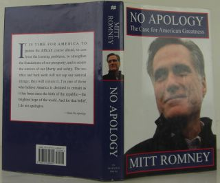 No Apology: The Case for American Greatness. Mitt Romney