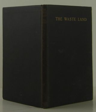 The Waste Land. T. S. Eliot