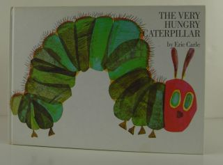 The Very Hungry Caterpillar Board Book and Plush. Eric Carle