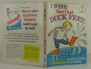 I Wish that I had Duck Feet. LeSieg Seuss Dr., Theo