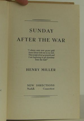 Sunday After the War