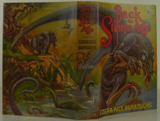 Back to the Stone Age. Edgar Rice Burroughs