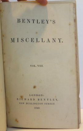 The Fall of the House of Usher in Bentley's Miscellany