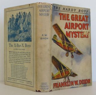 The Great Airport Mystery. Franklin Dixon