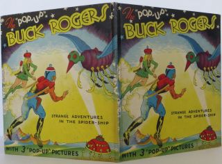 "The ""Pop-Up"" Buck Rogers: Strange Adventures in the Spider Ship"