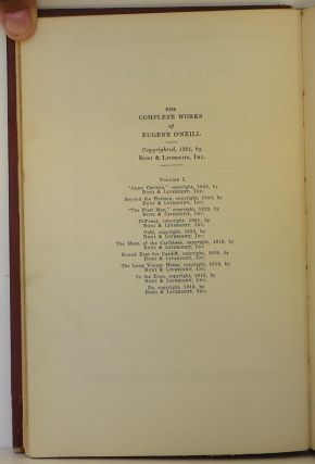 The Complete Works of Eugene O'Neill