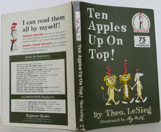 Ten Apples Up on Top! LeSieg Seuss Dr., Theo