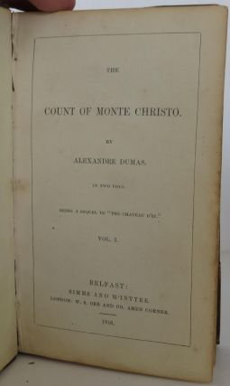 The Count of Monte Christo; Chateau D'If