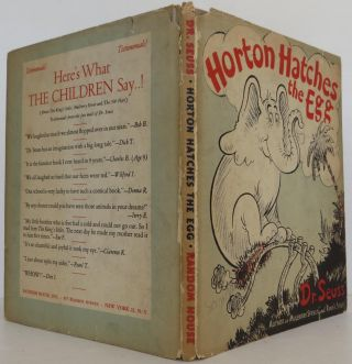 Horton Hatches the Egg. LeSieg Seuss Dr., Theo
