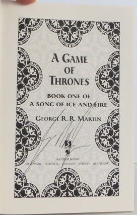 A Game of Thrones (Song of Ice and Fire)