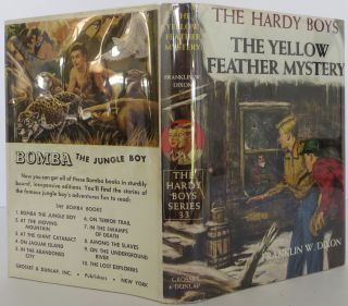 The Hardy Boys: The Yellow Feather Mystery. Franklin W. Dixon