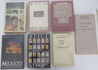 Alice Adams Collection of 7 Books. Alice Adams